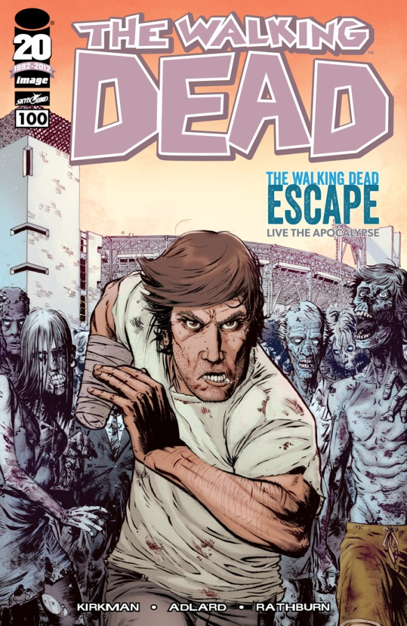 The Walking Dead #100 Alt Cover